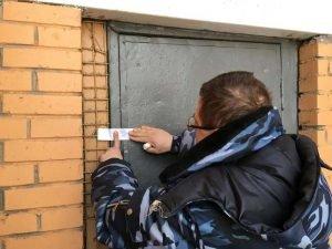 опечатывание дверей