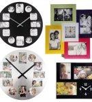 Мультирамки-часы разных форм