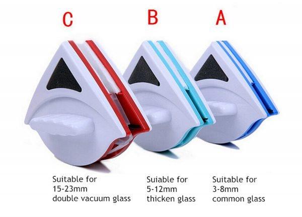 Магнитные щётки для разных окон
