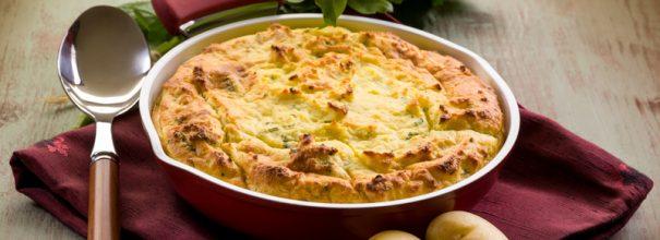 Картофельный пирог в форме