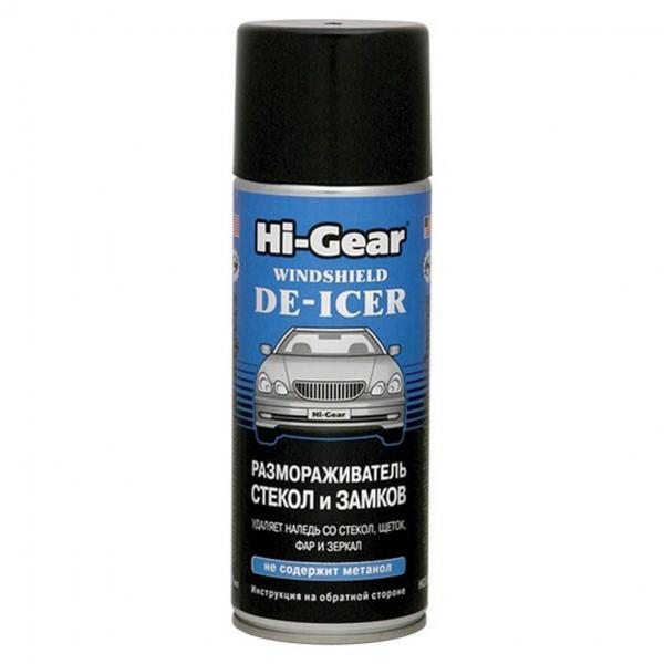 Размораживатель стёкол и замков Hi-Gear