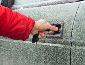 Замерз замок в авто