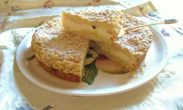 Готовый творожный пирог