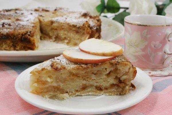 Болгарский пирог с яблоками