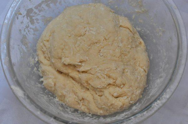 Кефирное тесто для лепёшек