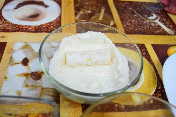 Сыр в муке