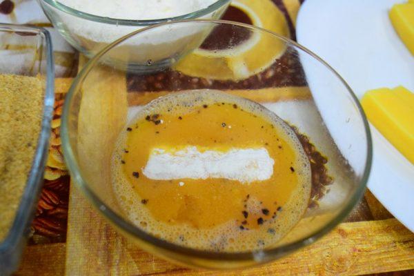 Сыр в яйце