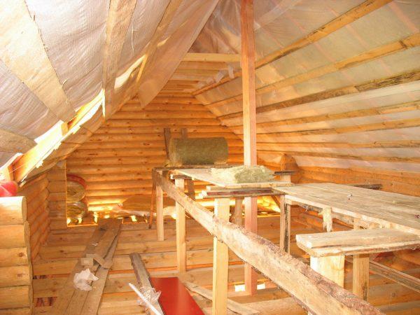Перекрытия крыши