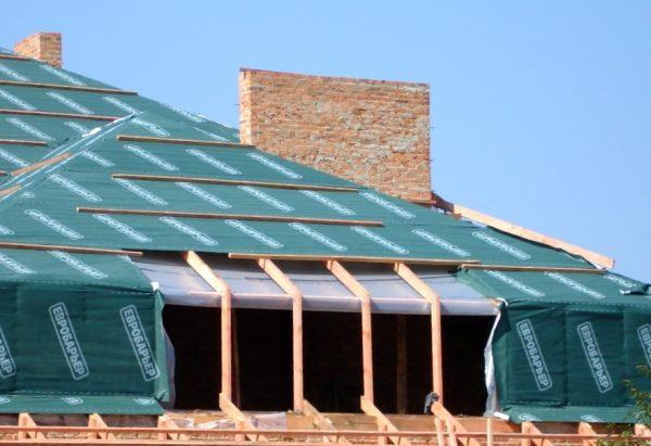 Мембрана для гидроизоляции крыши