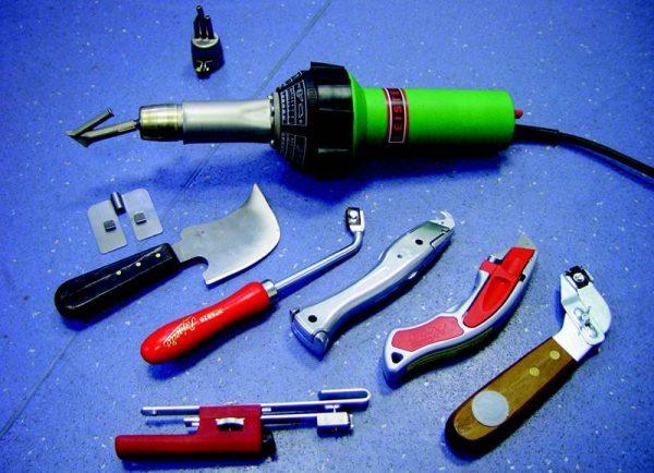 Набор инструмента для монтажа мембранной кровли
