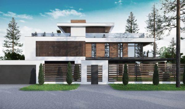 Современный автономный загородный дом