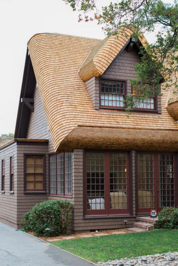 Битумная черепица для крыши дома