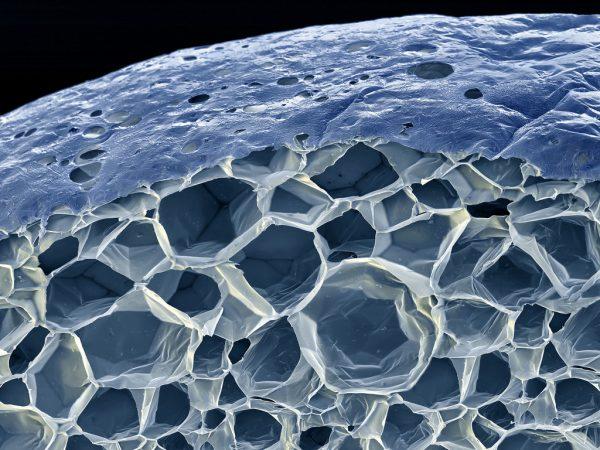 Структура пенопласта