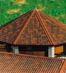 Оригинальная крыша из ондулина