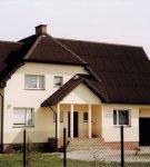 Крыша сложной формы из ондулина