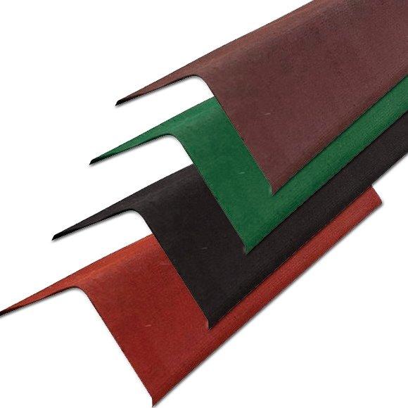 Щипцовые элементы для окантовки крыш из ондулина