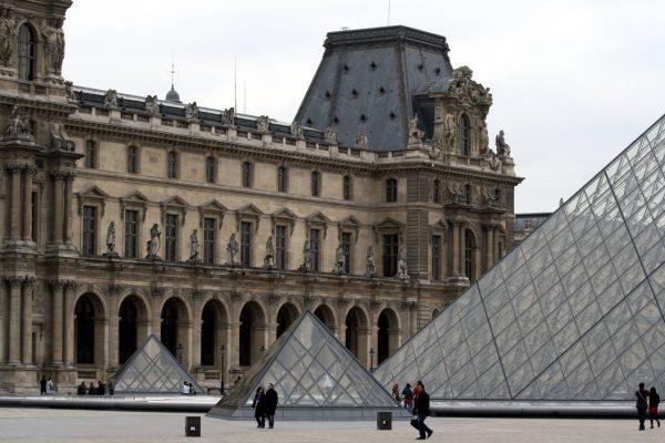 Зенитные фонари Лувра