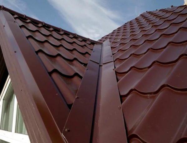 Ендова скатной крыши