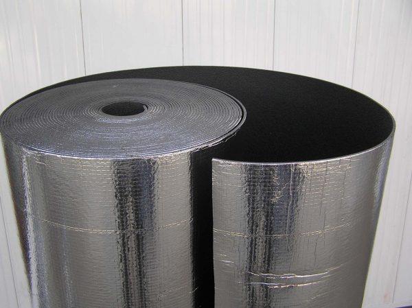 Фольгированный материал для пароизоляции