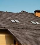 «Каскад» на крыше жилого дома