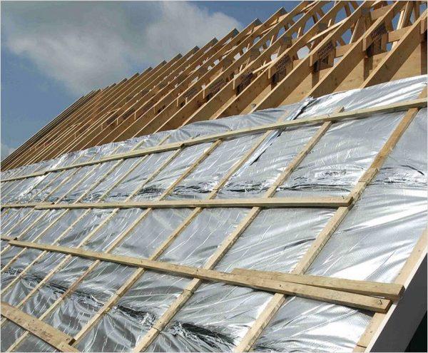 Изоляционные материалы крыши гаража