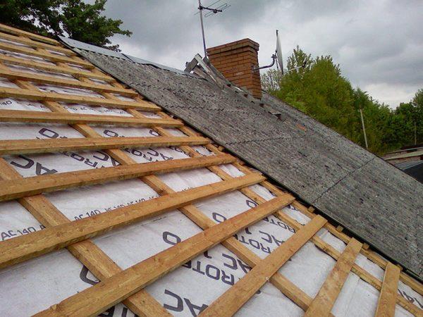 Обрешётка крыши под шифер