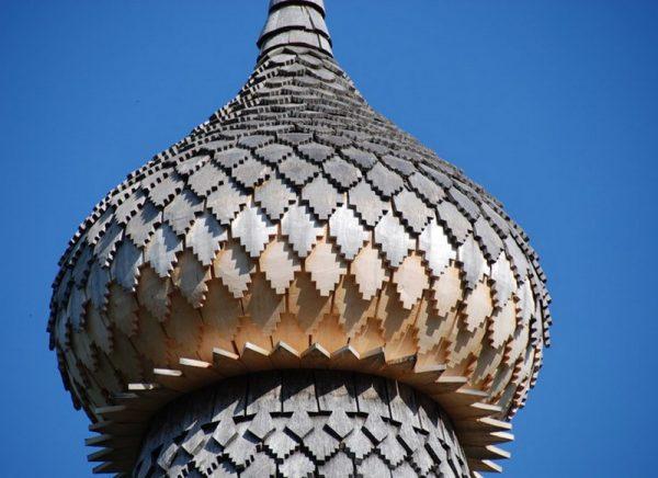 Церковный купол из лемеха