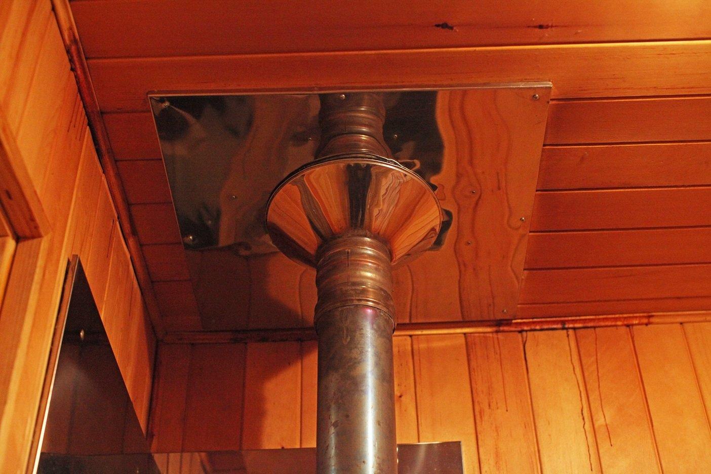 Труба для бани: как правильно сделать железный дымоход, какой должен быть диаметр изделия