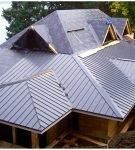 Оригинальная крыша из профлиста