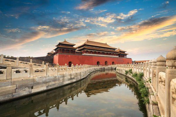 Пурпурный запретный город в Китае