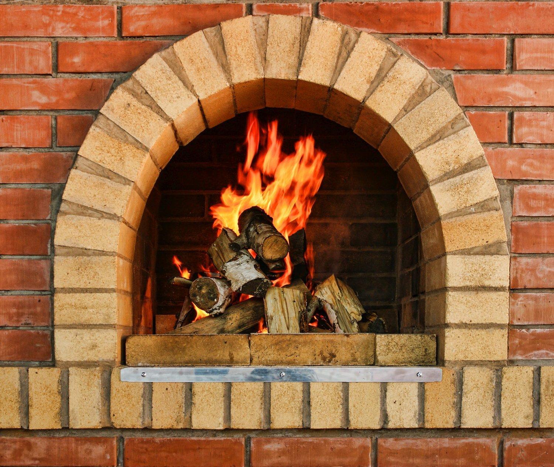 Картинка камина с огнем для детей