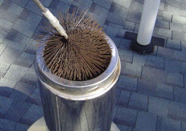 Щётка для чистки дымохода