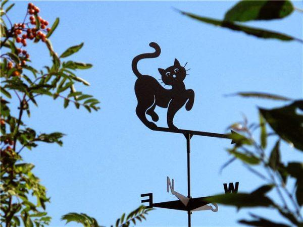 Флюгер кот