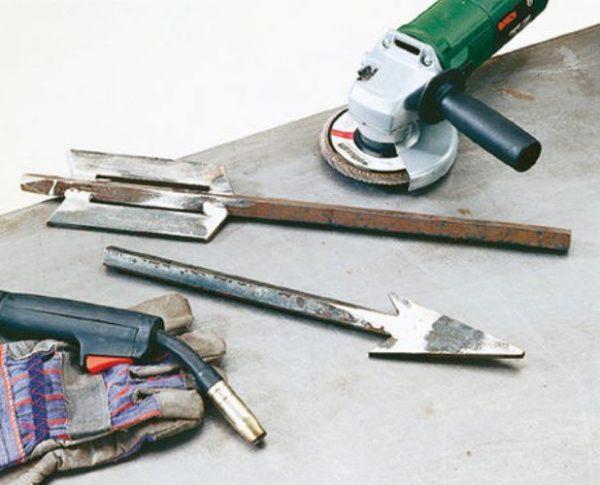 Изготовление стрелы