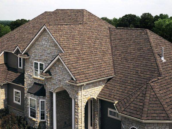 Сложная черепичная крыша
