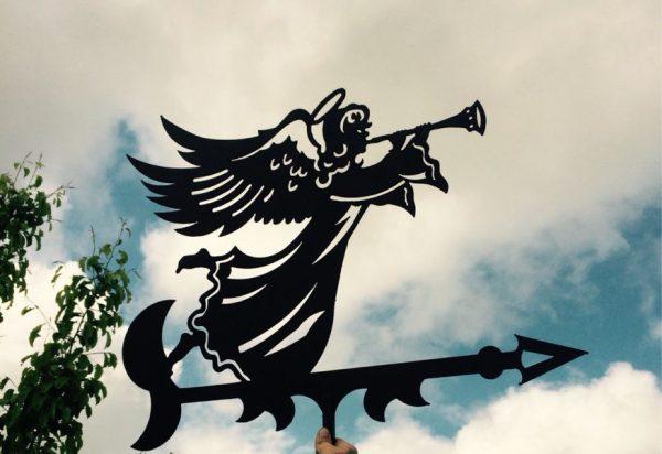 Флюгер в виде ангела