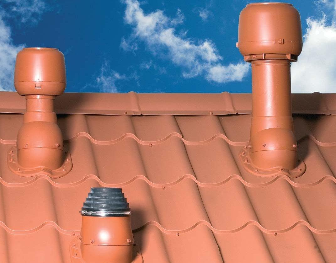 Монтаж вентиляционных и проходных элементов