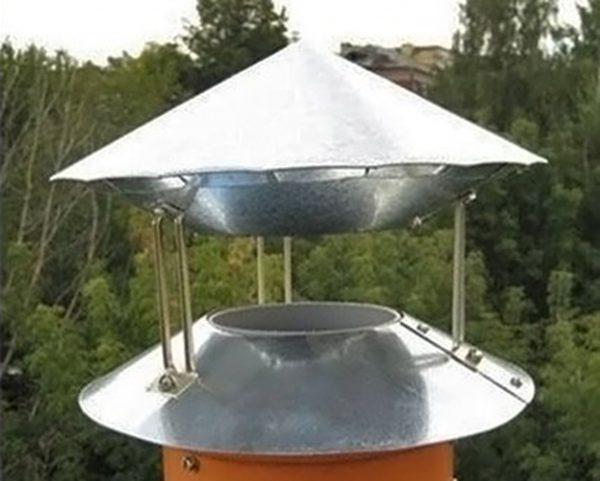 Дефлектор на дымоходе
