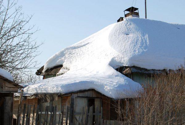Снежная нагрузка на крышу