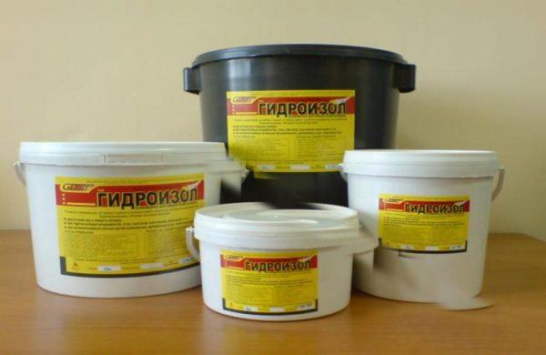 Битумно-полимерный состав «Гидроизол»