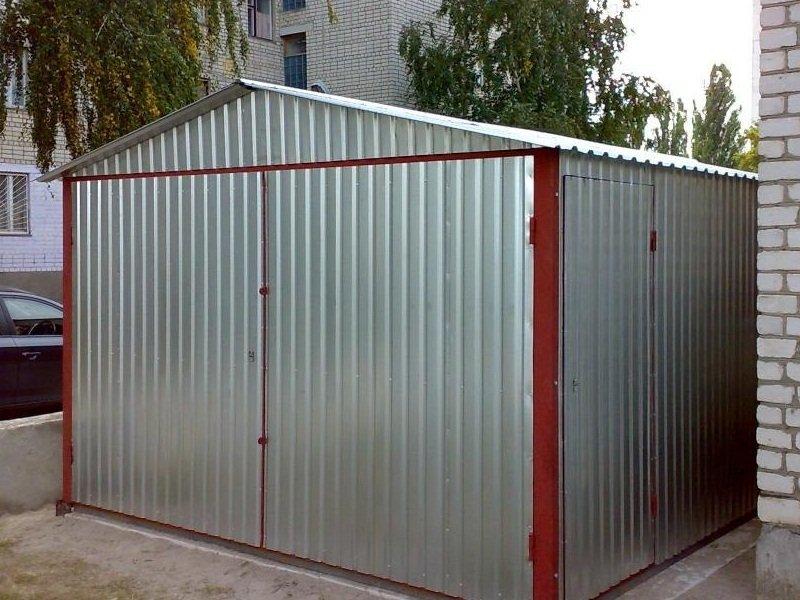 Чем заделать дырки в крыше металлического гаража купить гараж в арзамасе гск 3