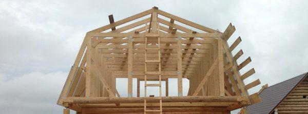 Ломаная крыша под мансарду