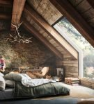 Эко-стиль в интерьере спальни