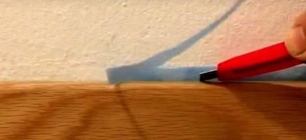 Обрезка краёв плёнки