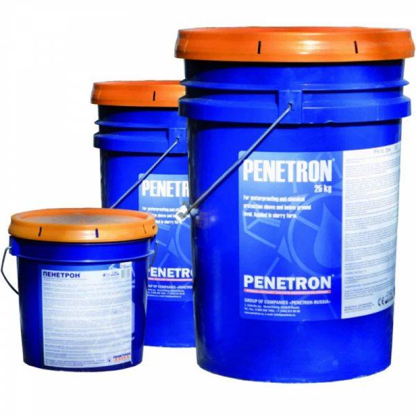 Сухая строительная смесь «Пенетрон»