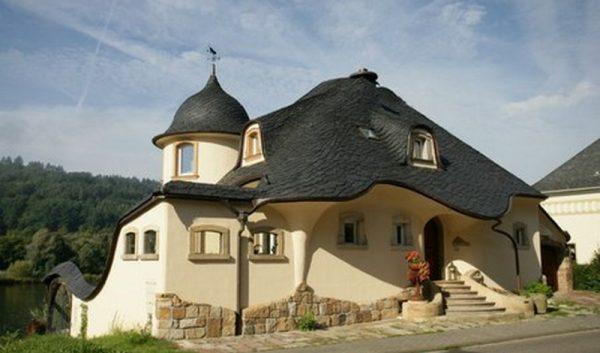 Гибридный тип мансардной крыши