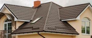 Крыша с ендовой