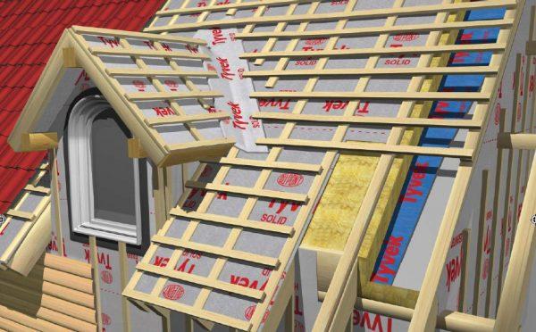 Стропильная система крыши с «кукушкой»