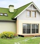 Г-образная крыша с ендовой