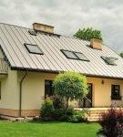 Традиционное устройство двускатной крыши